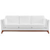 This item: Nicollet White Upholstered Fabric Sofa