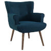 This item: Monroe Azure Upholstered Armchair