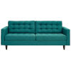 This item: Whittier Teal Upholstered Fabric Sofa