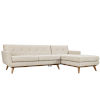 This item: Nicollet Beige Right-Facing Sectional