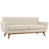 This item: Nicollet Beige 78-Inch Upholstered Fabric Loveseat