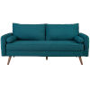 This item: Uptown Teal Upholstered Fabric Sofa