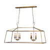 This item: Kate Old Gold Eight-Light Pendant