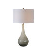 This item: Anita Dusky Gray and White One-Light Table Lamp