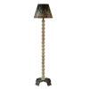 This item: Hazel Weathered Wood and Black One-Light Floor Lamp