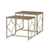 This item: Willow Distressed Cream and Driftwood Nesting Table, Set of 2