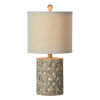 This item: Hazel Worn Brown and Cream One-Light Table Lamp