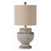 This item: Hazel Cottage White 21-Inch One-Light Table Lamp