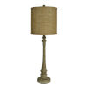 This item: Hazel Wood Grain One-Light Buffet Lamp