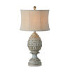 This item: Charlotte Distressed Blue One-Light Table Lamp