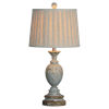 This item: Charlotte Rustic Blue 28-Inch One-Light Table Lamp