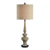This item: Charlotte Distressed Brown One-Light Table Lamp