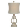 This item: Charlotte Antique Gray One-Light Table Lamp (Set of Two)