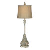This item: Charlotte Antique Blue One-Light Buffet Lamp