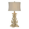 This item: Partridge Rustic White One-Light Table Lamp