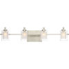 This item: Selby Brushed Nickel Four-Light LED Bath Vanity