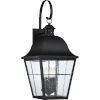 This item: Bryant Black Four-Light Outdoor Wall Sconce
