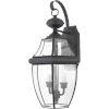 This item: Bryant Black Two-Light Wall Lantern