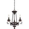 This item: Wellington Black Three-Light Chandelier