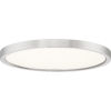 This item: Uptown Brushed Nickel 15-Inch LED Flush Mount