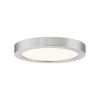 This item: Uptown Brushed Nickel Eight-Inch LED Flush Mount