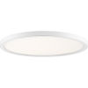 This item: Uptown White 20-Inch LED Flush Mount