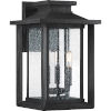 This item: Bryant Black Three-Light Outdoor Wall Sconce