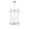 This item: Hayes Satin Nickel Four-Light Pendant