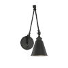 This item: Knox Matte Black 6-Inch One-Light Wall Sconce