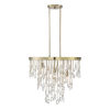 This item: Kelly Noble Brass Four-Light Chandelier