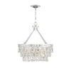 This item: Kelly Polished Nickel Four-Light Pendant