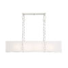 This item: Loring Satin Nickel Eight-Light Chandelier