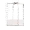 This item: Loring Satin Nickel Four-Light Pendant