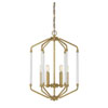 This item: Essex Warm Brass Six-Light Pendant