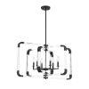 This item: Essex Matte Black Six-Light Pendant