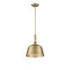 This item: Kate Warm Brass One-Light Pendant