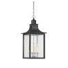 This item: Elle Slate Four-Light Outdoor Pendant
