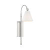 This item: Whittier Satin Nickel One-Light Wall Sconce