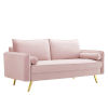 This item: Vivian Pink Upholstered Sofa