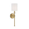 This item: Lyndale Natural Brass One-Light Wall Sconce