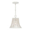 This item: Hayden Weathered White One-Light Pendant