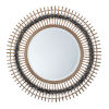 This item: Grace Gray and Natural Wall Mirror