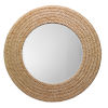 This item: Grace Natural and White Wall Mirror