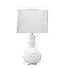 This item: Grace White One-Light Table Lamp