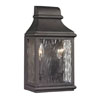 This item: Kenwood Charcoal 11-Inch Two Light Outdoor Wall Sconce