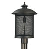 This item: Uptown Old Bronze One-Light Outdoor Post Mount