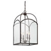 This item: Isles English Bronze 15-Inch Four-Light Foyer Pendant