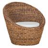 This item: Emma Rattan Abaca Arm Chair