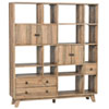 This item: Jace Natural Reclaimed Pine Wall Unit