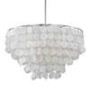 This item: Nicollet Capiz Shell Six-Light Pendant